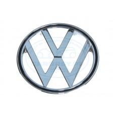 'VW' Emblemat okrągły na przednią klapę (oryginał)
