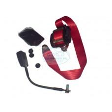 Automatyczny pas bezpieczeństwa-czerwony (1szt)