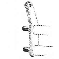 Drążki skrętne przód zestaw Garbus -65/standard