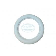 Biały ring (BIG) 15 cali wysokość 7,5 cm (4szt)