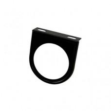 Ramka montażowa wskaźnika 1 otwór (52mm), czarna
