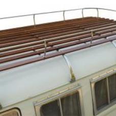 Bagażnik dachowy 4 poprzeczki T2  (Nierdzewka)