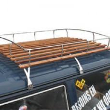 Bagażnik dachowy 3 przęsła  T25 (Stal nierdzewna)