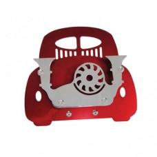 Stojak na  wizytówki Garbus (czerwony) Vintage Speed