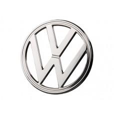 'VW' Emblemat oryg. chrom T2 8/1972 - 7/1979